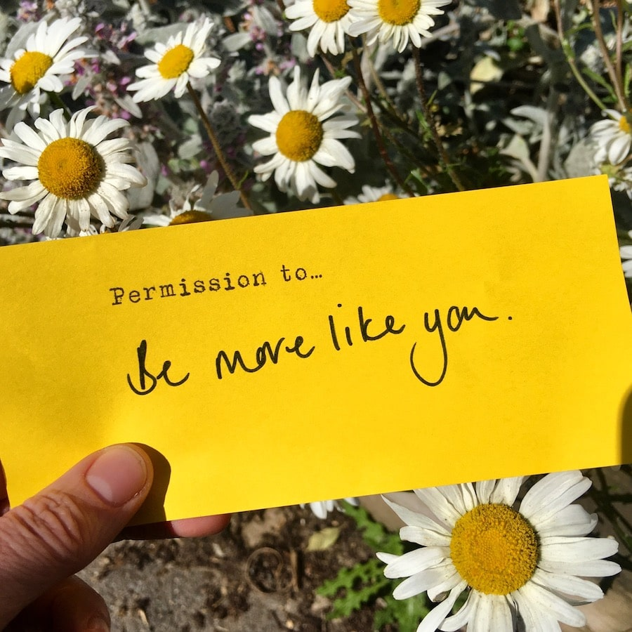 permission to be more like you